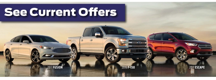 Current Offers on New Fords